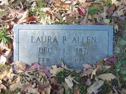 Laura Belle <i>Byrd</i> Allen