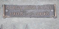 Gerda Anna <i>Salge</i> Grimm