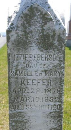 Lizzie B <i>Keefer</i> Ebersole