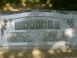 Melva Byrl <i>Marks</i> Dodge