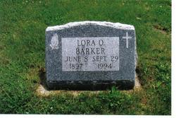 Lora Olga <i>Eggers</i> Barker