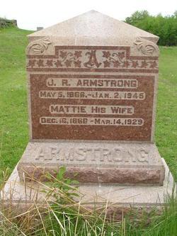 Mattie <i>Palmer</i> Armstrong
