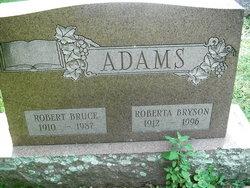 Robert Bruce Adams
