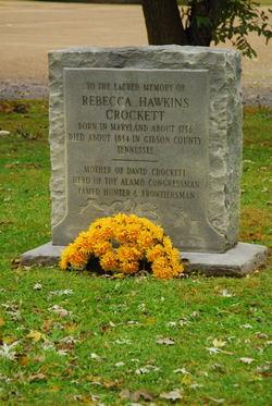 Rebecca <i>Hawkins</i> Crockett