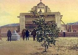 Santo Domingo Pueblo Mission Church Cemetery