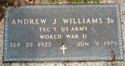 Andrew J Williams, Sr