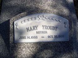 Mary Ernstine <i>Barfknecht</i> Troudt