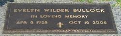 Evelyn <i>Wilder</i> Bullock