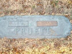 Nora Ethel <i>Anderson</i> Pruett