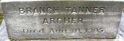 Branch Tanner Archer