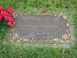 Irene Rena <i>Dallas</i> Davidson