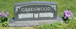 Georgia Anna <i>Davis</i> Greenwood