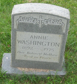 Annie Washington