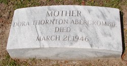 Dora G. <i>Thornton</i> Abercrombie