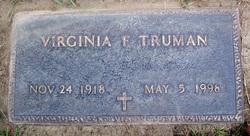 Virginia Frances <i>Allington</i> Truman
