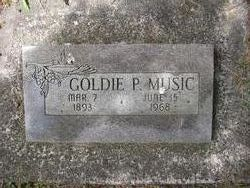 Goldie P <i>Connaghy</i> Music