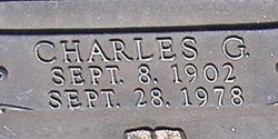 Charles Garland Carter
