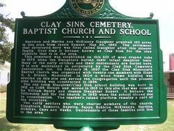 Clay Sink Cemetery