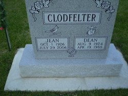 Roberta Jean <i>Randol</i> Clodfelter