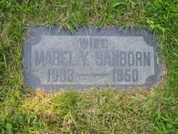 Rhoda Mabel <i>Young</i> Sanborn