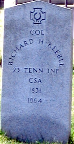 Col Richard Hudson Keeble
