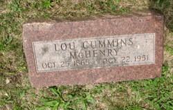 Louisa Carolina <i>Cummins</i> McHenry