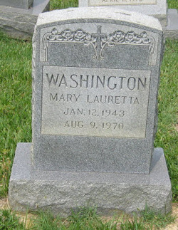 Mary Lauretta Washington