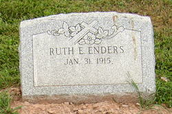 Ruth E. <i>Fike</i> Enders