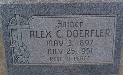 Alexander C Alex Doerfler, Sr