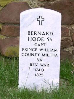 Capt Bernard Hooe, Sr