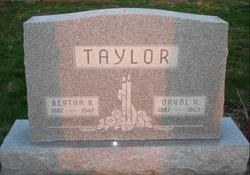 Bertha Bright <i>McDaniel</i> Taylor