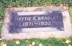 Hattie E <i>Stone</i> Bradley