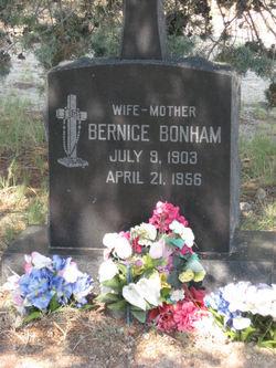 Bernice M. <i>Lubkin</i> Bonham