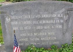 Annie <i>Tatum</i> Anderson
