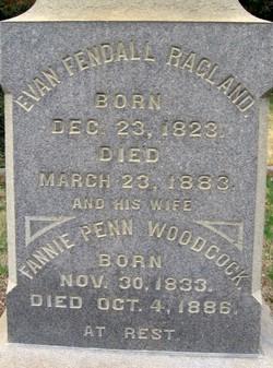 Fannie Penn <i>Woodcock</i> Ragland