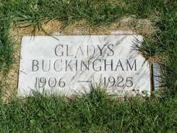 Gladys Laverne <i>Gollehon</i> Buckingham
