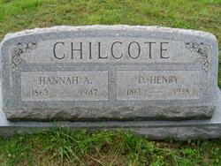Hannah Alberta <i>Bowman</i> Chilcote
