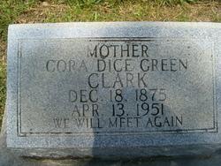 Cora Dice <i>Green</i> Clark