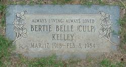 Bertie Belle <i>Culp</i> Kelley