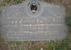 Betty Jane <i>DeGrassi</i> Hainze