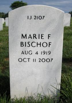 Marie F <i>Ellison</i> Bischof