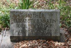 Elizabeth B <i>Franks</i> Martin