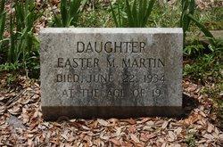 Easter Merle Martin