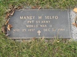 Pvt Maney M. Selfo