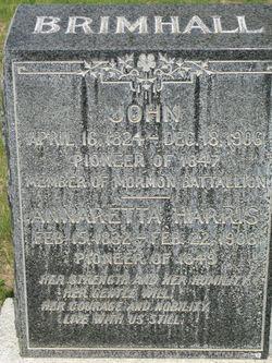 Pvt John Brimhall