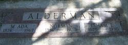 Martha Ada <i>Marshall</i> Alderman