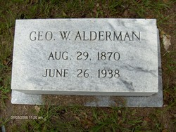 George Washington Alderman