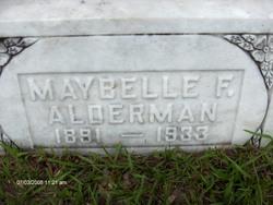 Maybelle F <i>Bradley</i> Alderman