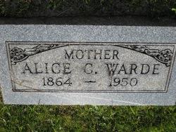 Alice C. Warde
