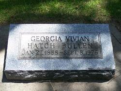 Georgia Vivian <i>Hatch</i> Bullen